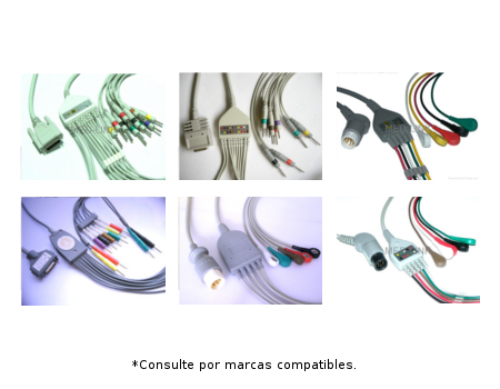 Cable completo ECG