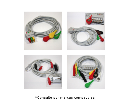 Latiguillos para cable base ECG
